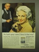 1964 Clairol Come Alive Gray Hair Color Ad - I Love It - $14.99