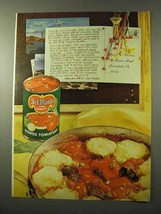 1964 Del Monte Stewed Tomatoes Ad - $14.99
