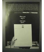 1964 Kimberly-Clark Kimberly Bond Paper Ad - See It - $14.99