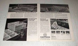 1964 Koppers Ad - Dylite Refrigeration Panels, Foam - $14.99