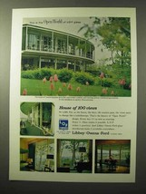 1964 Libbey-Owens-Ford Thermopane Glass Ad - Open World - $14.99