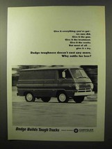 1964 Dodge Van Ad - Give It Everything You've Got - $14.99