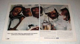 1964 Ford Motor Company Ad - Their Victory Smiles - $14.99