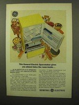 1964 General Electric Spacemaker Refrigerator Ad - $14.99