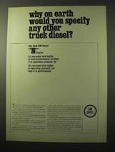 1964 GM Diesel N Engines Ad - Why On Earth? - $14.99