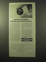 1964 Grace Chemicals Ad - With That Extra Touch - $14.99