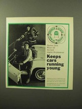 1964 Quaker State Motor Oil Ad - Running Young - $14.99