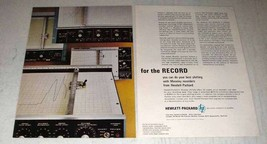 1964 Hewlett-Packard Moseley Recorders Ad - For Record - $14.99