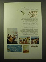 1964 Matson Lines Ad - Grace and Charm of South Seas - $14.99
