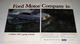 1964 Mercury Park Lane Car Ad - Ford Motor Company - $14.99
