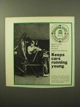 1964 Quaker State Motor Oil Ad - $14.99