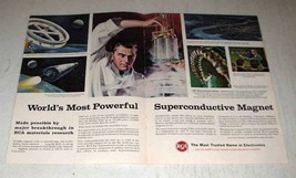 1964 RCA Superconductive Magnet Ad - Most Powerful - $14.99