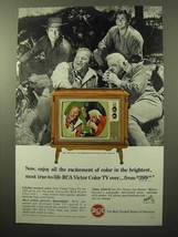 1964 RCA Vista Color TV Ad - Cast of Bonanza - $14.99