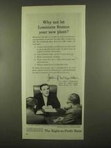 1965 Louisiana Commerce Ad - Governor John J. McKeithen - $14.99