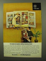 1964 Westinghouse Space King Refrigerator, Freezer Ad - $14.99