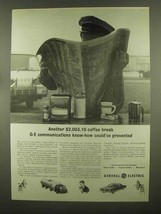 1965 General Electric Ad - $2,003.10 Coffee Break - $14.99