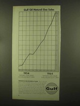 1965 Gulf Oil Ad - Natural Gas Sales - $14.99