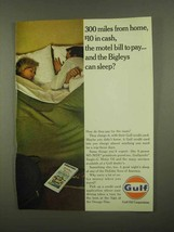 1965 Gulf Oil Ad - 300 Miles From Home - $14.99