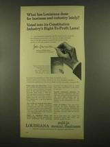 1965 Louisiana Development Ad - Business - $14.99