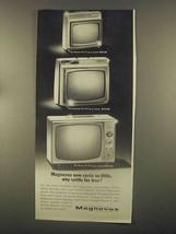 1965 Magnavox TV Ad - Resorter, Stowaway, Nassau - $14.99