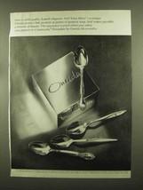 1965 Oneida Community Silverplate Silverware Ad - $14.99