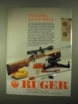 1994 Ruger Varmint Rifle Ad - The Long Range Rifle - $14.99