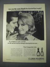 1966 Clairol Shampoo Ad - Are You the Same Blonde? - $14.99