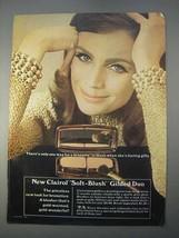 1966 Clairol Soft-Blush Gilded Duo Makeup Ad - Blush - $14.99