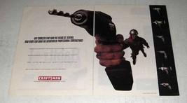 1995 Craftsman Cordless Tool Ad - Contractors - $14.99