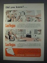 1966 Las Vegas Convention Center Ad - Did You Know? - $14.99