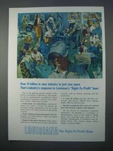 1966 Louisiana Dept. of Commerce and Industry Ad - Right-to-Profit - $14.99