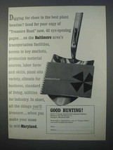 1966 Maryland Industrial Development Ad - Good Hunting - $14.99