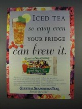 1996 Celestial Seasonings Tea Ad - So Easy - $14.99