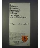 1966 RHD Donnelley-Marketing Ad - Product is Sprawling - $14.99