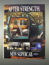 1997 Ford F150 SuperCab Pickup Truck Ad - Strength - $14.99