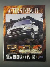 1997 Ford F150 Pickup Truck Ad - Ride & Control - $14.99
