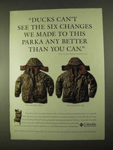 1994 Columbia Omni-Quad Parka Ad - Ducks Can't See - $14.99