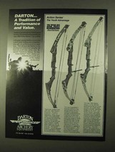 1994 Darton Bows Ad - Explorer, SuperStick, Scout - $14.99