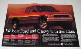 1994 Dodge Dakota Club Cab Pickup Truck Ad - We Beat - $14.99