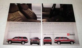 1994 GMC Jimmy Truck Ad - Tired of Climbing In and Out - $14.99