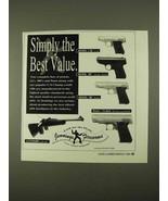 1994 Jennings Pistol Ad - J-22, Model .38, Model .48 + - $14.99