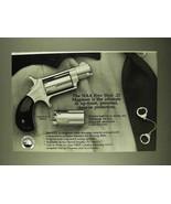 1994 North American Arms .22 Magnum Revolver Ad - $14.99