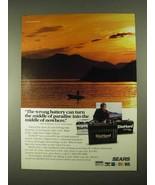 1994 Sears DieHard Marine Batteries Ad, Babe Winkelman - $14.99