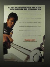 1995 Craftsman Tools Ad - Sport Which Demands Nerves - $14.99