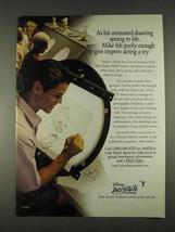 1996 Disney Institute Ad - Mike Felt Goofy Enough - $14.99