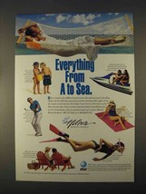 1996 Hilton Resorts Ad - Everything From A to Sea - $14.99