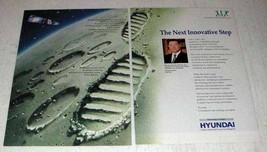 1996 Hyundai Group Ad - The Next Innovative Step - $14.99