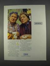 1996 IBM Computers Ad - Satisfaction - $14.99