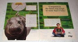 1996 Intel Processor Ad - Computers No More 1.5 Tons - $14.99