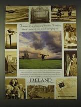 1996 Ireland Tourism Ad - It's a Glimpse of Heaven - $14.99